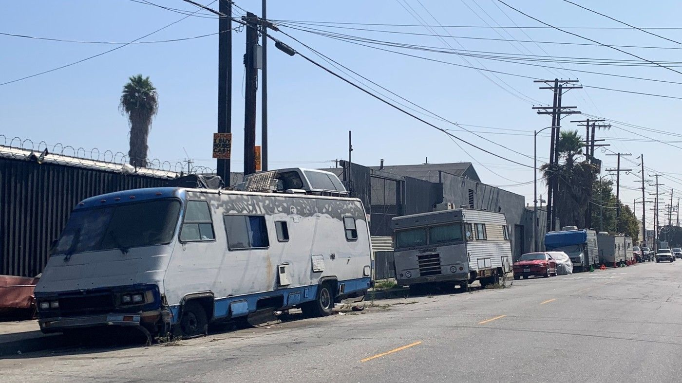 NPR News Amid Homelessness Crisis, Los Angeles Restricts