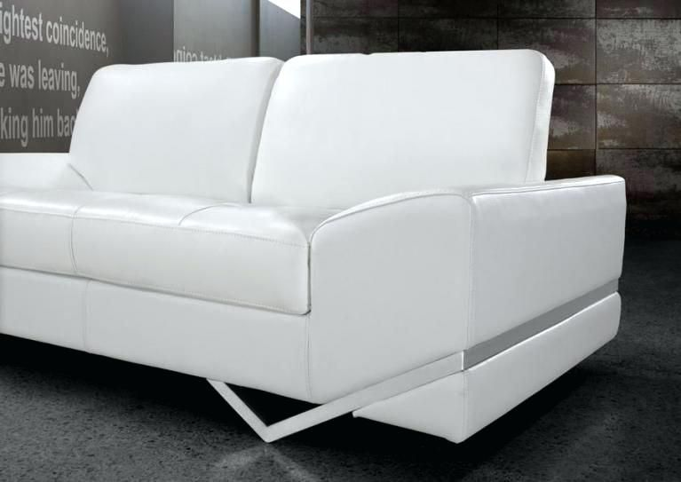 Sofa White Leather With Images White Leather Sofas Leather Sofa Decor Modern Leather Sofa