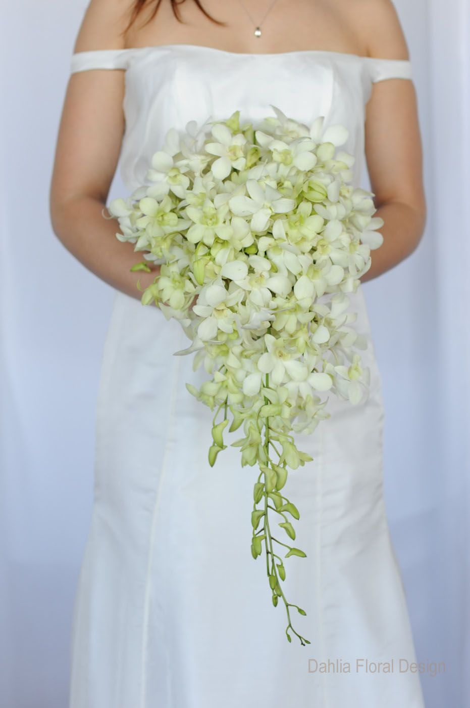 White And Green Wedding Bouquets Boquette Wedding