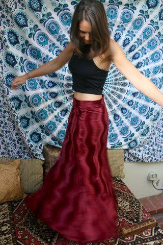 Bengali Skirt - Berry | Skirts | Skirts, Tie dye skirt, Lady