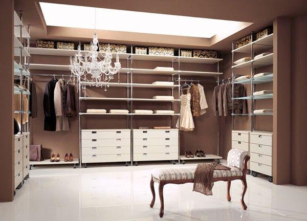 Different Elements And Modules To Make Multifunctional Walk In Closet Wardrobe Interior Design Dressing Room Design Walk In Closet
