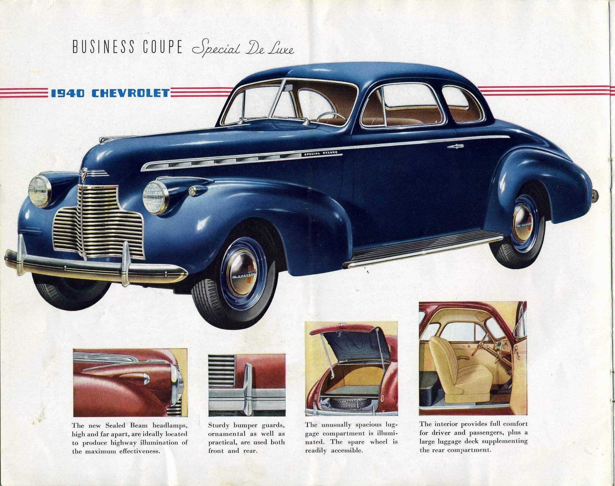 1940 chevrolet coupe | ... Chevrolet/1940_Chevrolet/1940_Chevrolet_Brochure/ 1940%20Chevrolet-03