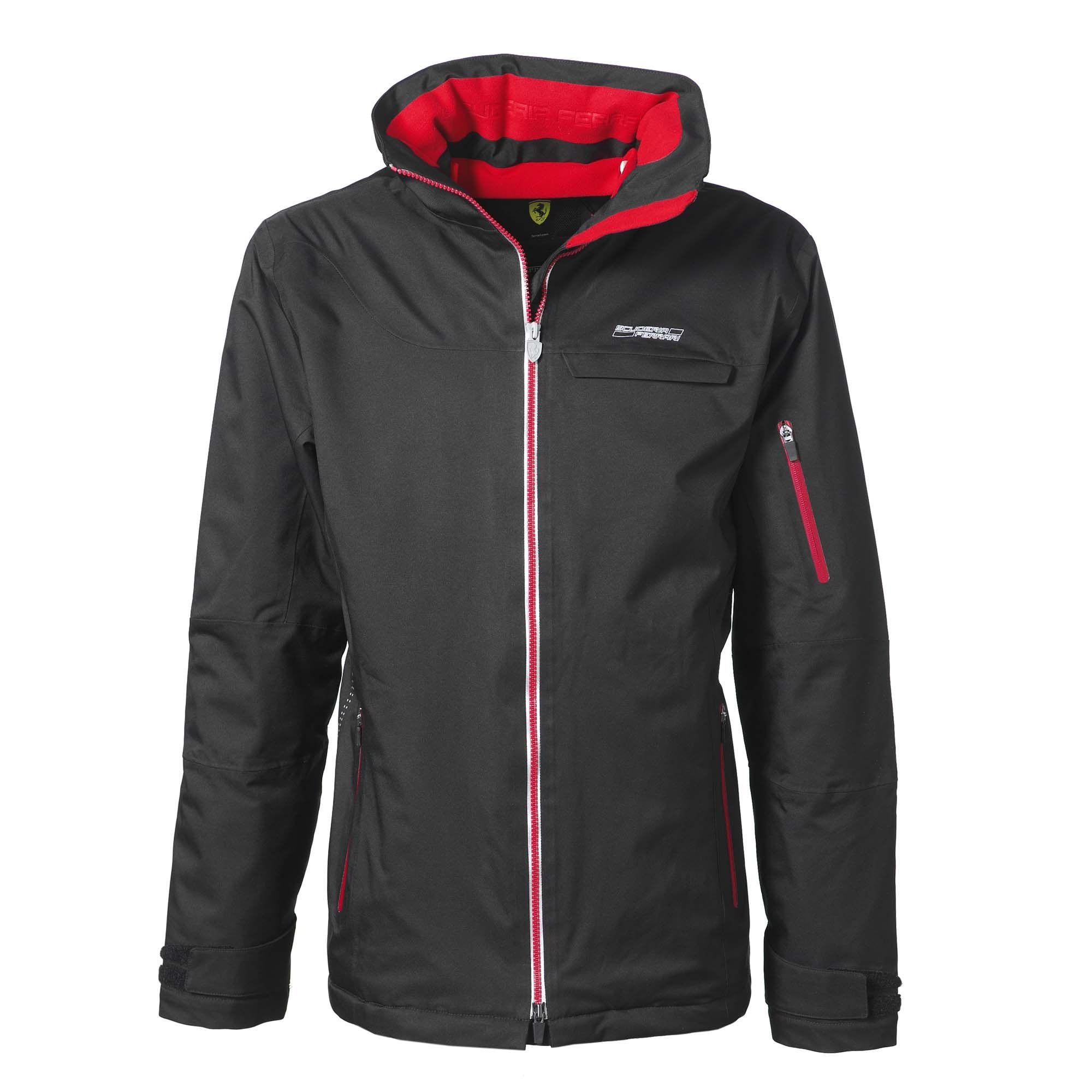 softshell men lyst gallery track normal jacket for puma black scuderia product clothing in ferrari