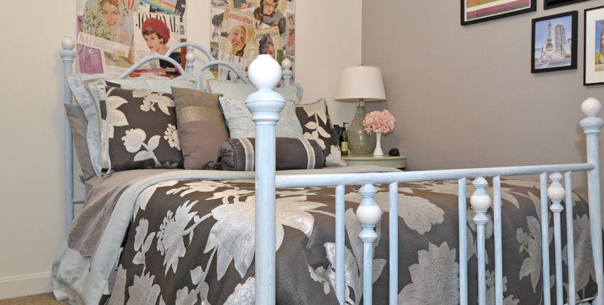 Brass Bed Revamp Planitdiy Brass Bed Headboard Makeover Decor