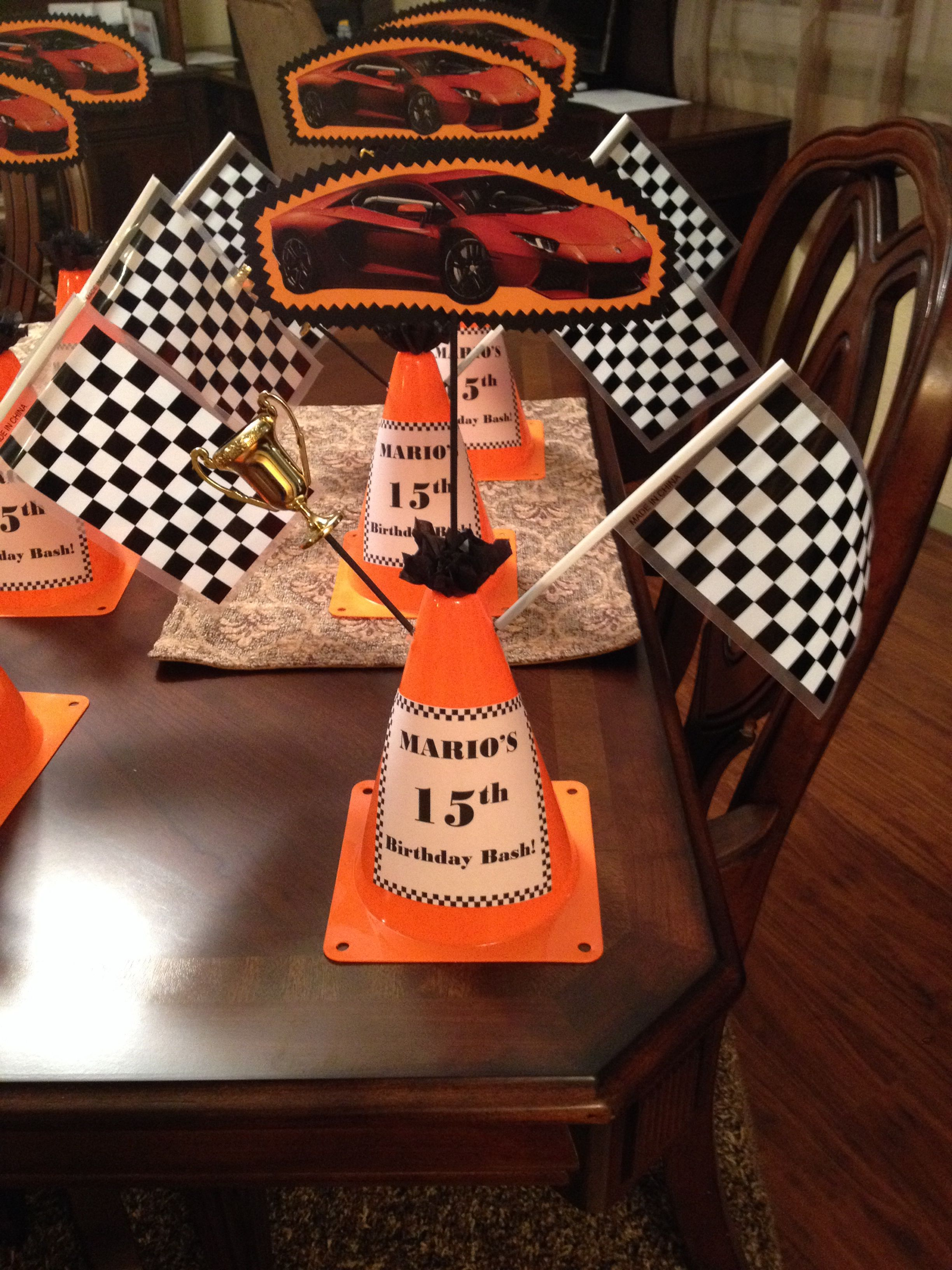party scl racing full indy supplies race decorations nascar decor car city