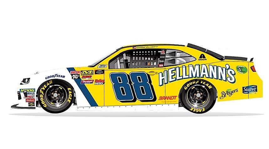 Nascar Paint Scheme Preview Daytona 500 Wednesday February 14 2018 Chase Elliott Will