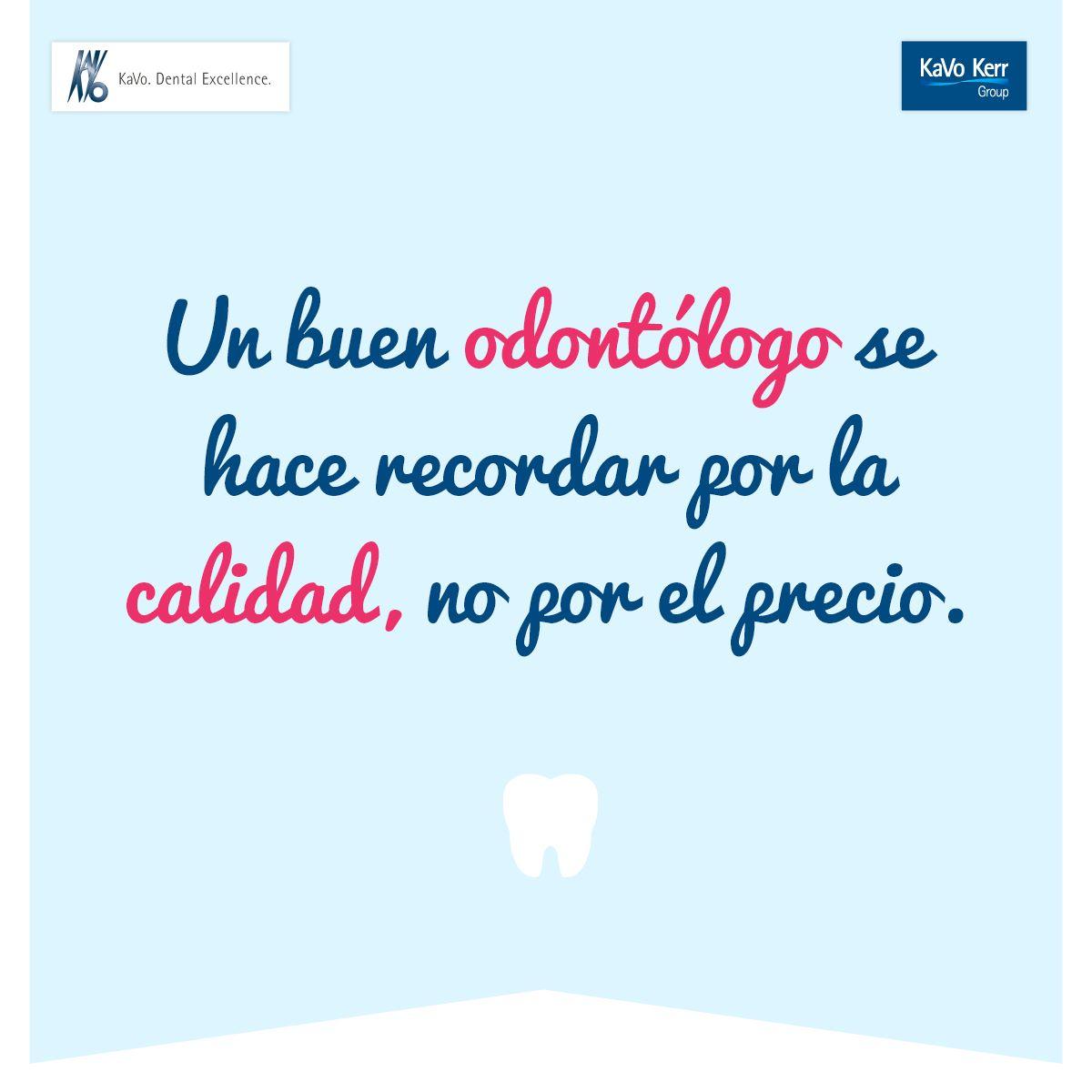 Odontología Frase Kavomx Odontólogo Ortodoncia Dental