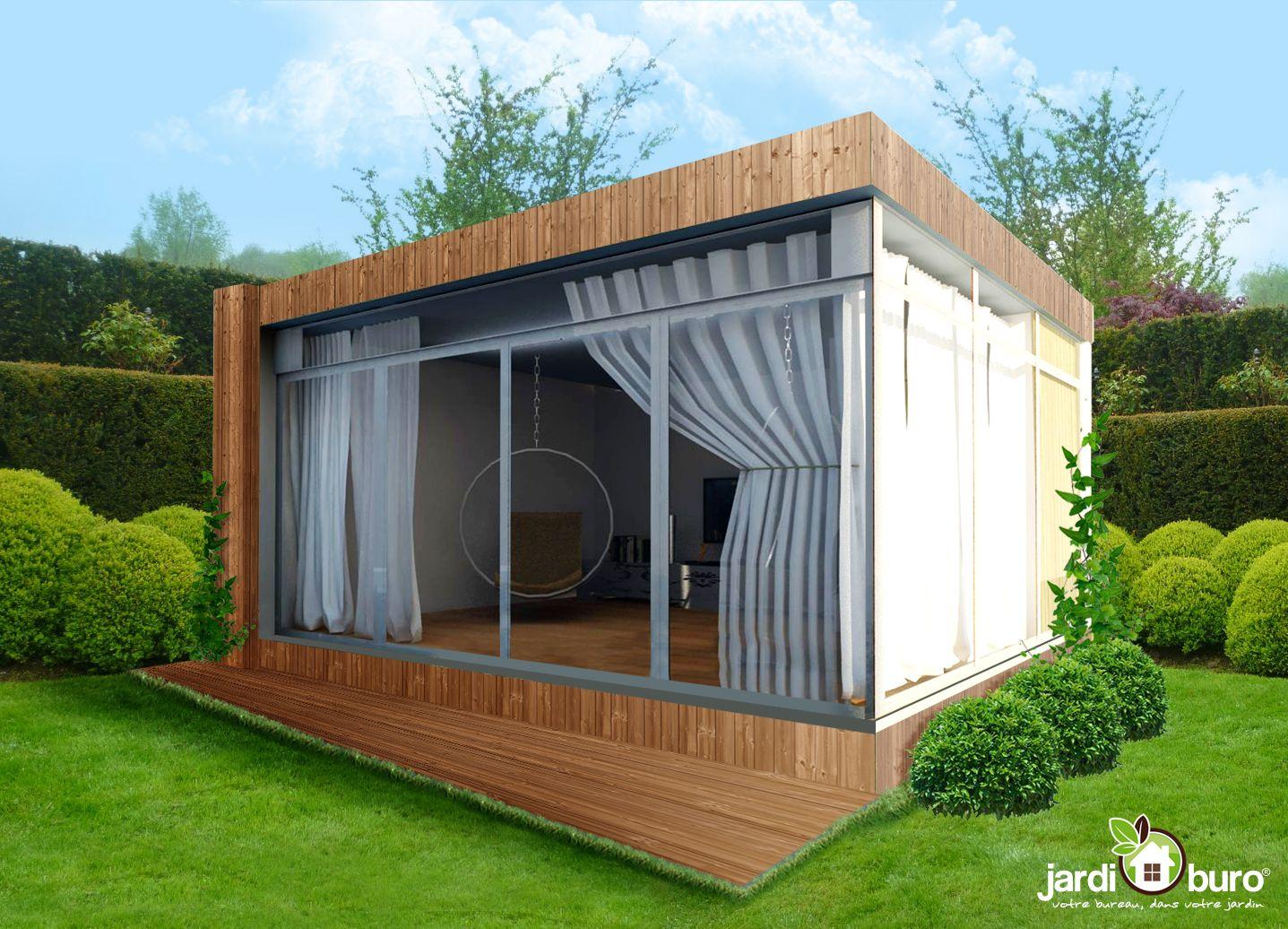 Un bureau pour le jardin. jardiburo favorite pinterest