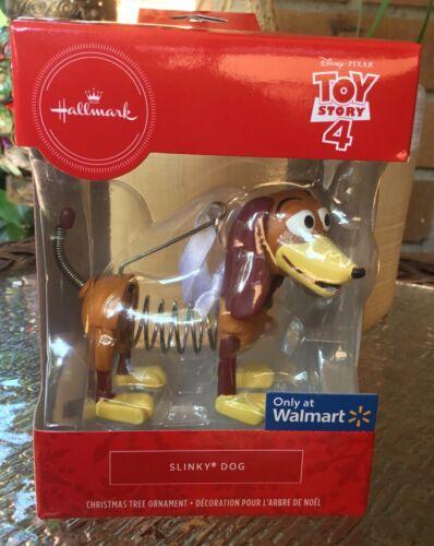 Hallmark 2019 Disney Toy Story 4 Slinky Dog Ornament Red Box Nib Walmart Exclsv Dog Ornaments Dog Christmas Ornaments Disney Toys