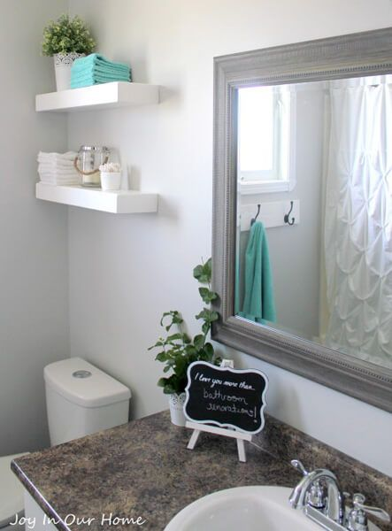 How To Decorate A Bathroom With Recycling You Must Try It Fair Decorating Ideas For Small Bathrooms Decorating Design