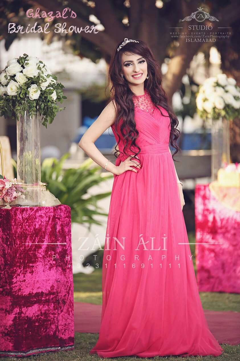 Pin By Nidanouman On Dresses With Images Bridal Shower Dress Pakistani Bridal Bridal