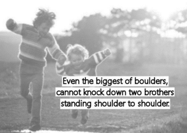 Brotherly Love Quotes Simple Love Quotes For Brother  Lovely Quotes And Wishes For Your Brother