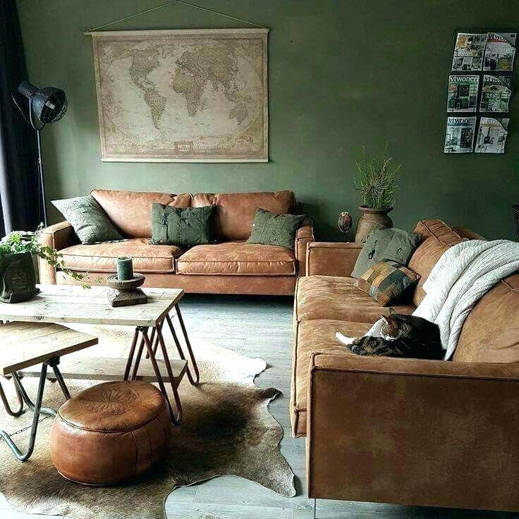 Dark Green Living Room Green Living Room Furniture Olive Green