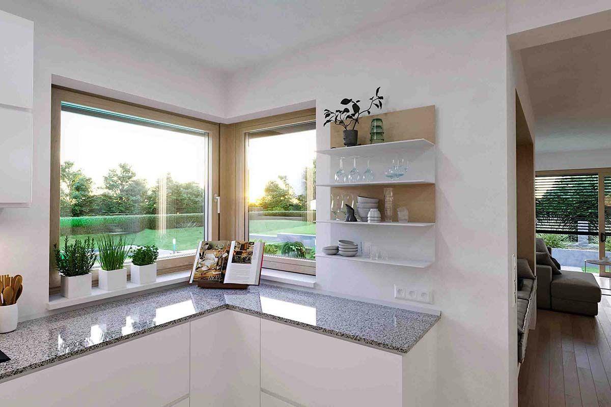 Offene Kueche In Einem Zenker Haus Kuchen Planung Kuchenplanung Haus