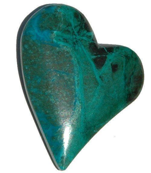 Gaddabout Rock Creations - Chrysocolla Heart Cabochon 3774, $19.95 (http://stores.gaddaboutrockcreations.com/chrysocolla-heart-cabochon-3774/)