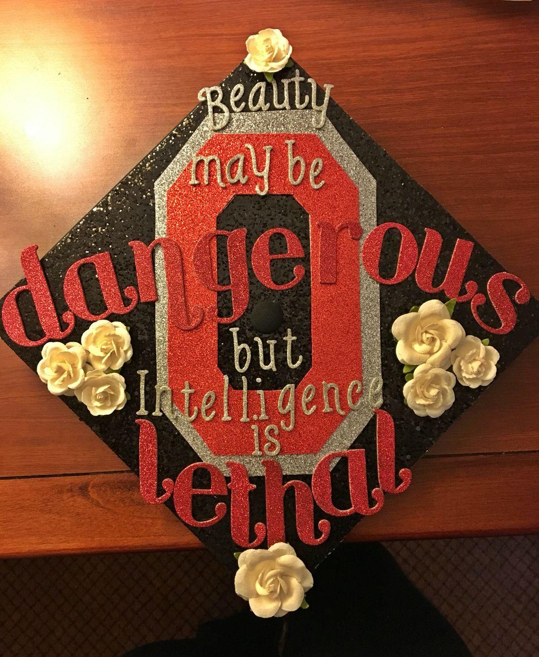 Ohio State Graduation Cap Master of Social Work '16 ...