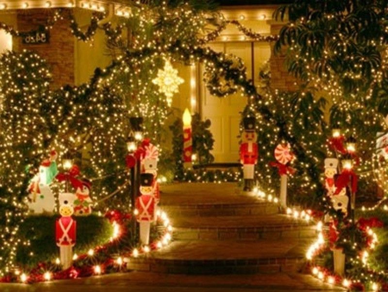 decoration christmas decorations outdoor christmas sweet home design ideas with best outdoor christmas decorating ideas picture - Best Outdoor Christmas Decorations