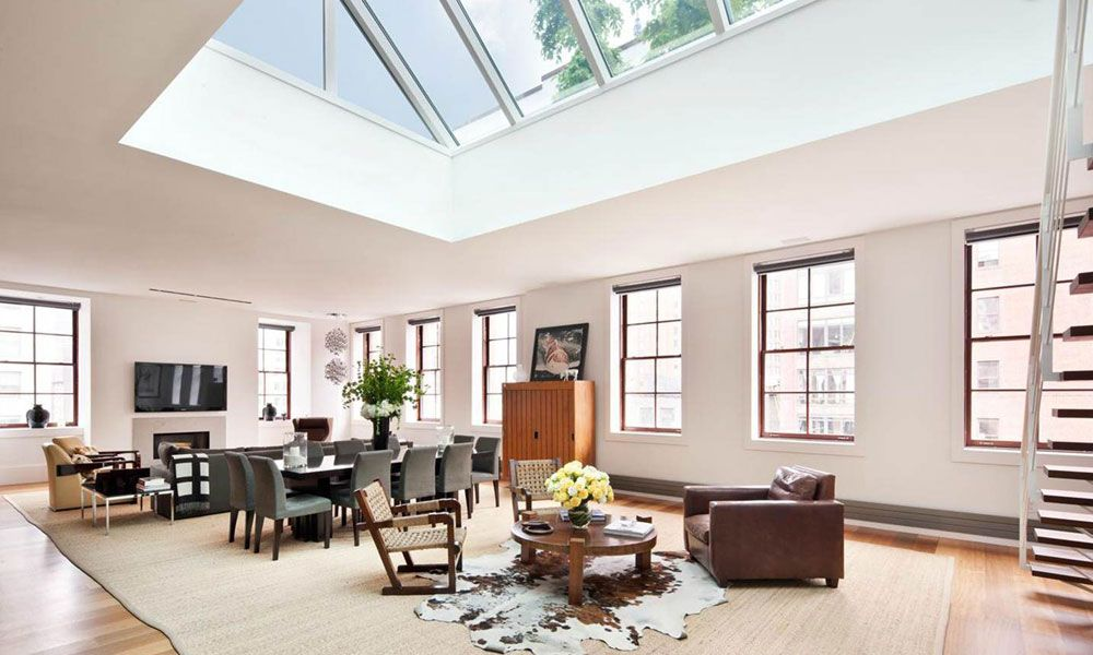 Living Rooms With Skylights Offering Natural Light Living Room Decor Modern Large Living Room Design Living Room Designs