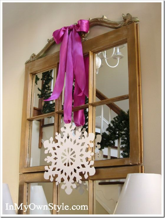 Christmas Decorating Ideas Easiest Ribbon Bow EVER! Christmas