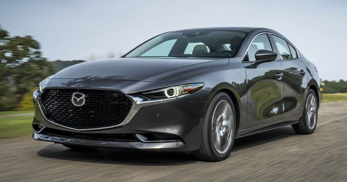 Mazda Has The Zoom Zoom Attitude And Appearance In Spades With Its Redesigned Mazda3 For 2019 Mazda Mazda 3 Bmw