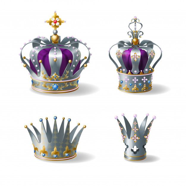 Download King, Queen Silver, Golden Or Platinum Crown