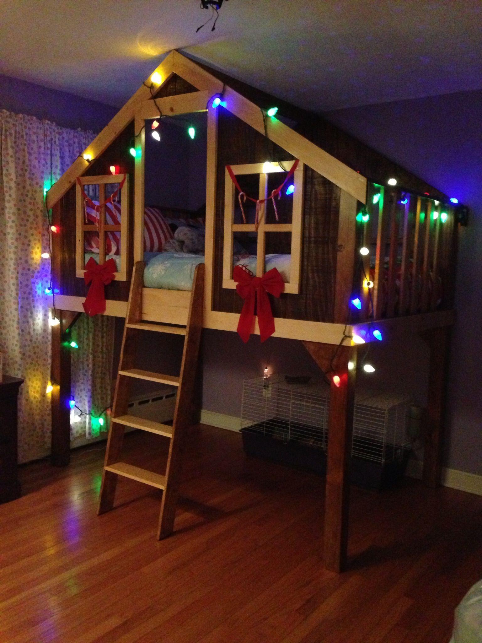 Treehouse bed stuff I Love Pinterest