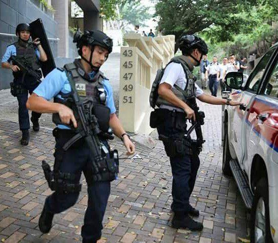 Pin By Psychohilda On Armed Kong Police Hong