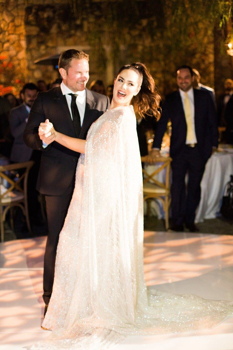 Beau Dunn S Glam All White Wedding In Beverly Hills Black