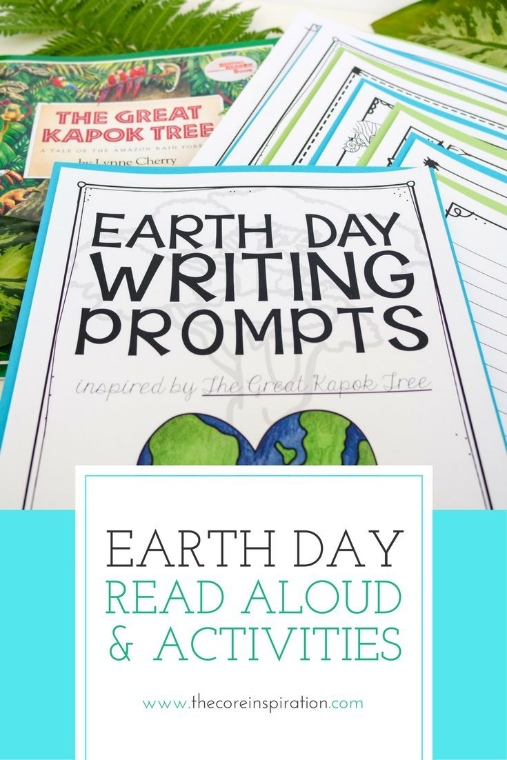 Earth day activity pack inspired by the great kapok tree