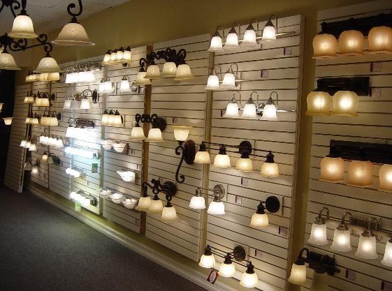 Sinclair Lighting Displays Showroom