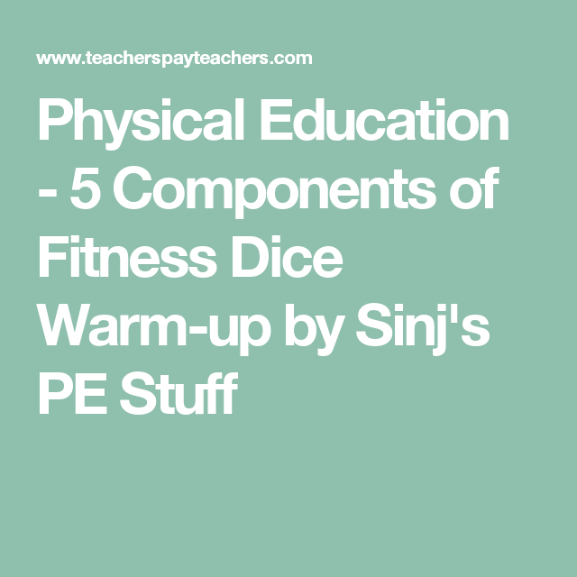 5 components of physical education