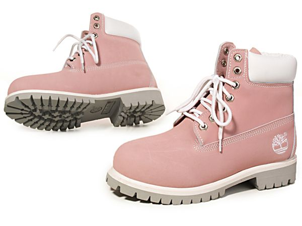 official timberland boots,Women's Timberland 6-Inch Boots-Pink White  clearance,timberland outlet.