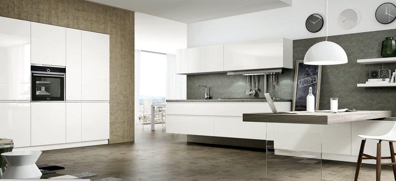 Cucina moderna / in laminato / laccata - WEGA - Arredo3 ...