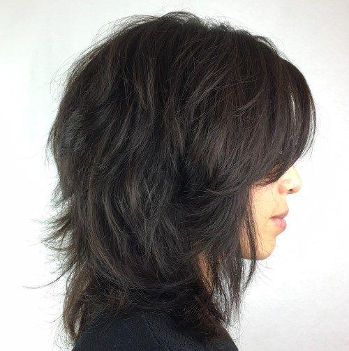 50 die meisten universellen modernen Shag Haircut-Lösungen ...
