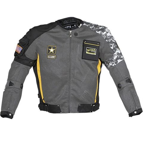 Joe Rocket U.S. Army Delta Grey Jacket - Motorcycles508