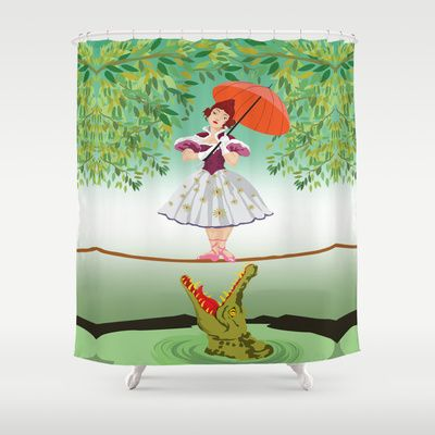 Haunted Mansion Stretching Portrait Shower Curtain With Images