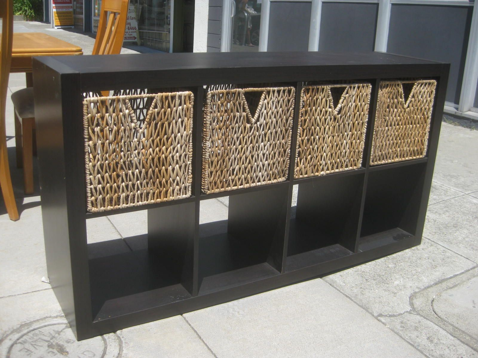 Beautiful Storage Cubes With Baskets And Nice 6 Cube Horizontal Organizer, Black  Design