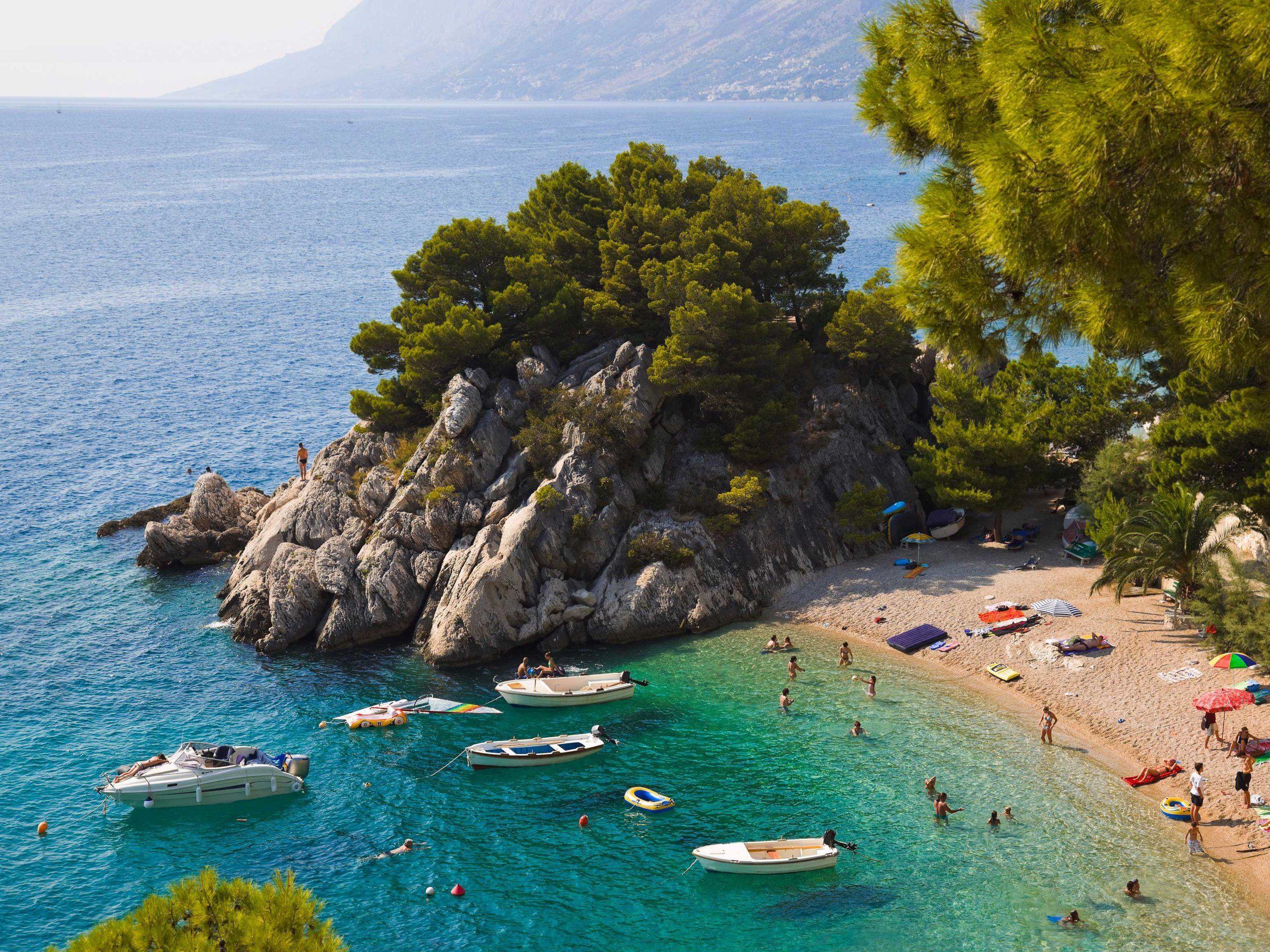 14 photos of beaches in Croatia Beautiful