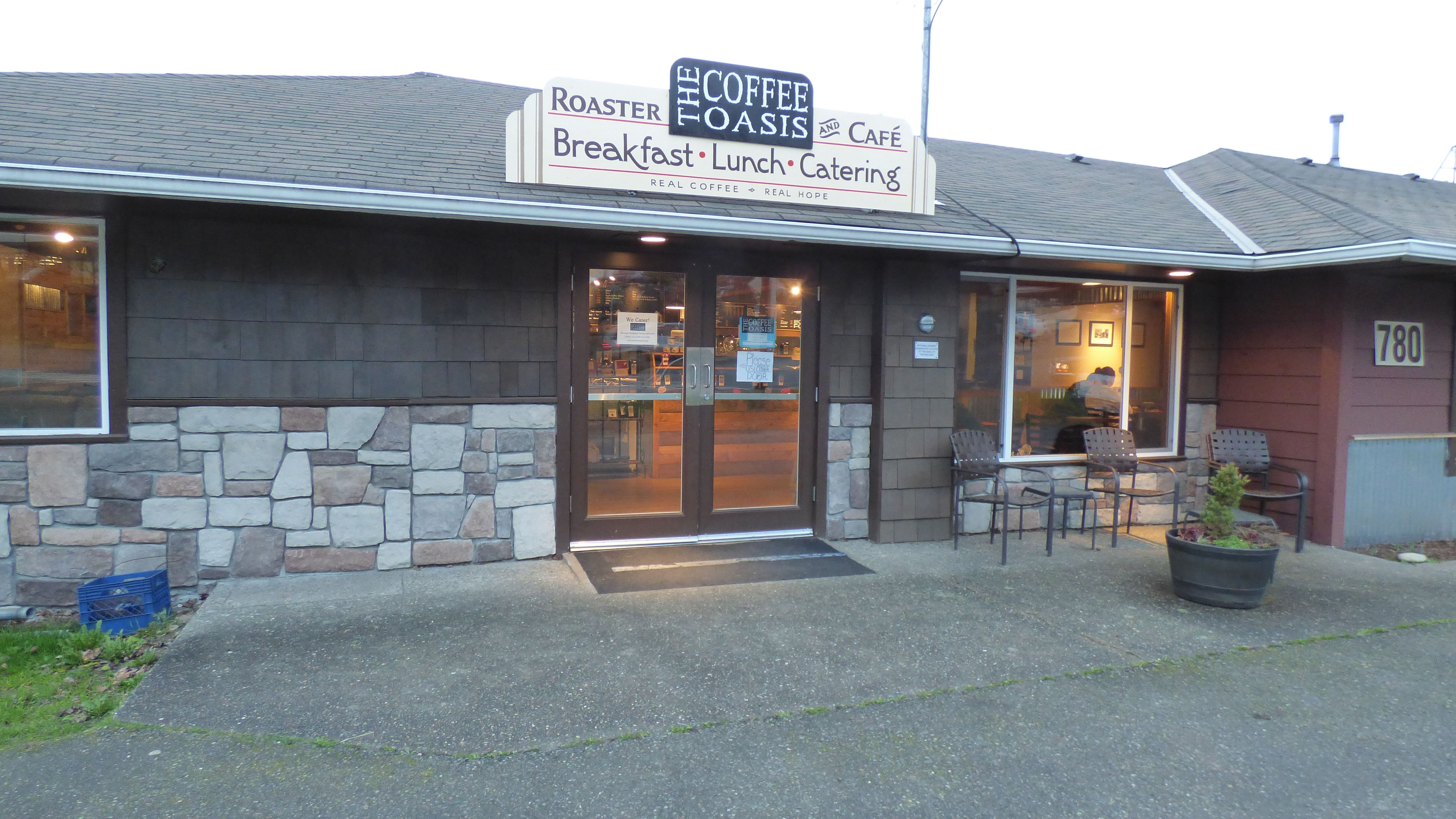 The Coffee Oasis Poulsbo Entrance Kitsap Charity Kitsapcares Bremerton Poulsbo Port Orchard Photo Ken Rury Spon Coffee Shop Business Poulsbo Coffee Shop