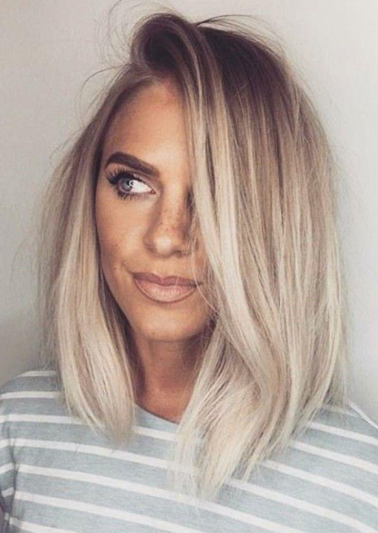 Balayage, blondes Haar, Locken, Mädchen, graues Haar, Haar, langes Haar, Ombre …   – Kurze Frisuren