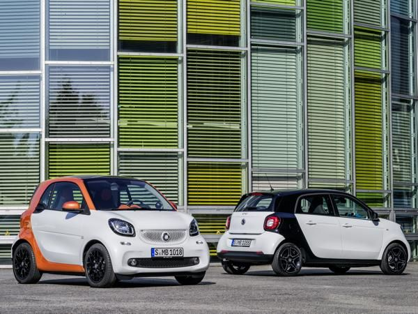 #smart reveals new #fortwo and #fourfour
