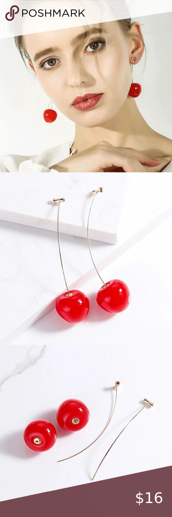 Cherry Dangle Earrings Cherry Dangle Earrings Ador