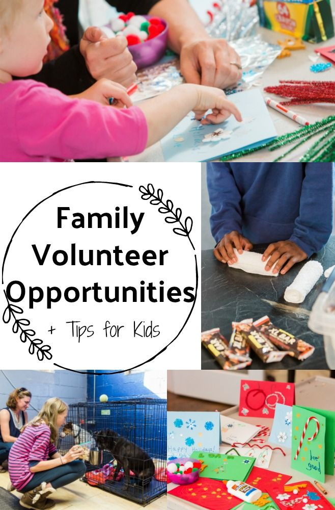 Modeling Compassion & Service Volunteering as a Family