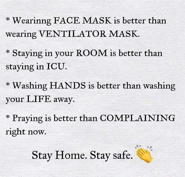 Stay Home. Stay safe. in 2020 Safe quotes, Top quotes