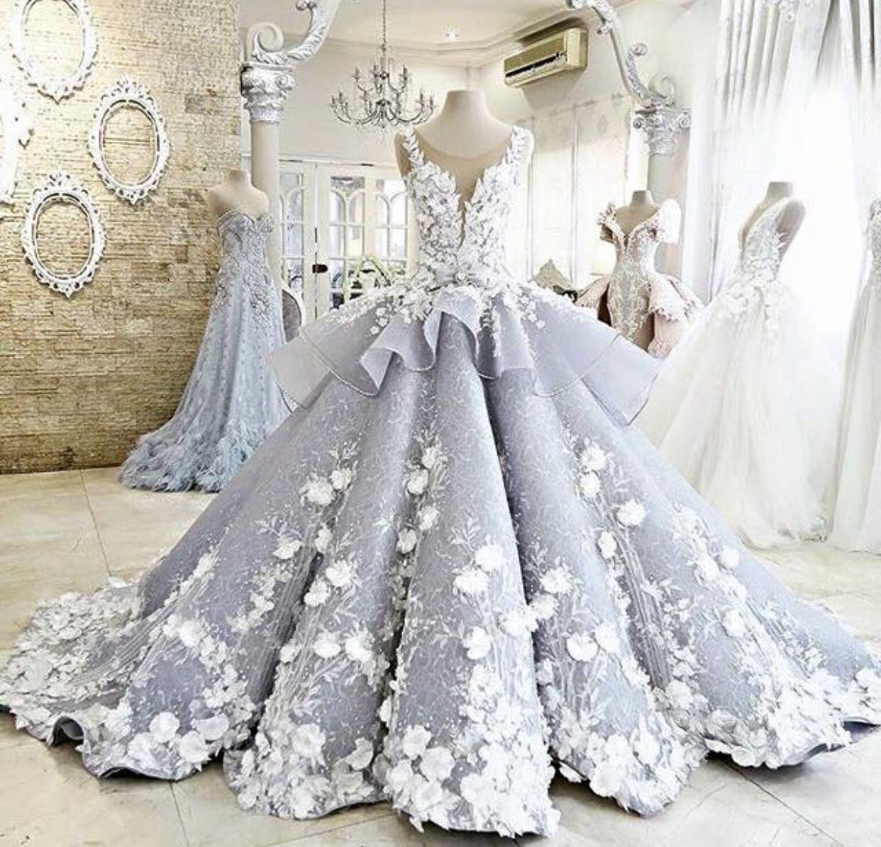 Most Beautiful Ball Gown Wedding Dresses: Dress By Mac Tumang
