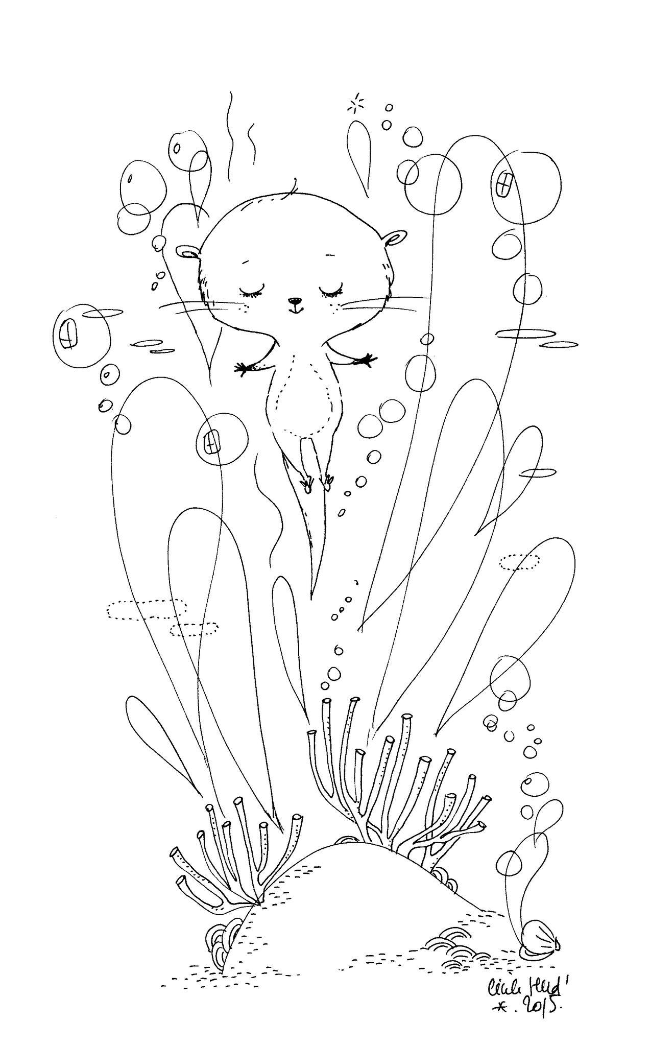 scan296 | Cécile Hudrisier | Pinterest | Ilustraciones, Dibujo y ...