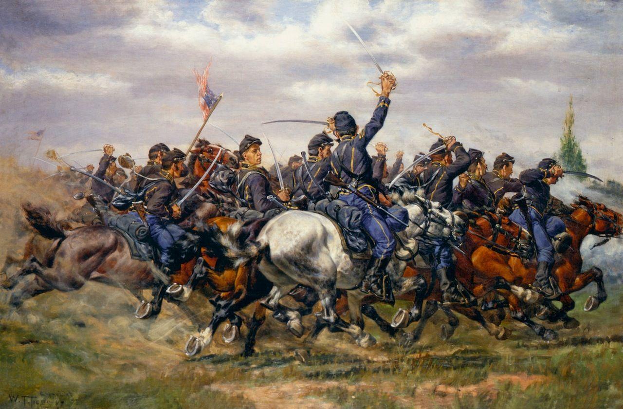 724 best Civil War Paintings images on Pinterest | America ... |American Civil War Battle Paintings