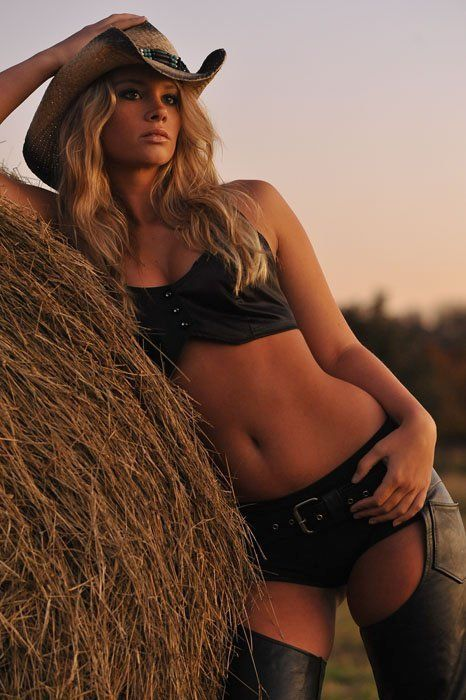 Hot country girls in chaps