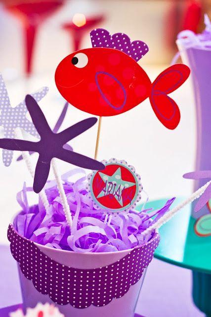Είμαι παιδί: Under the Sea-ένα πάρτι με θέμα τη θάλασσα, γεμάτο χρώματα