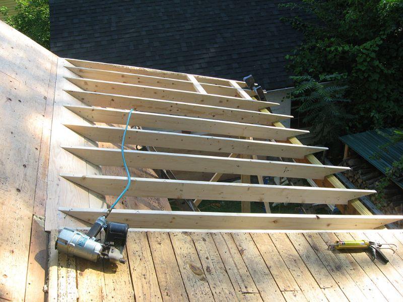 Porch Roof Framing | Smalltowndjs.com | outdoor ideas | Pinterest ...